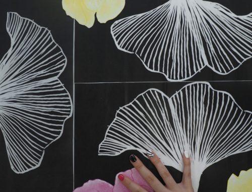 projet photo liant planche dessinée et corps
